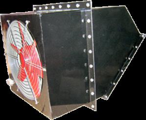 方型壁式轴流风机